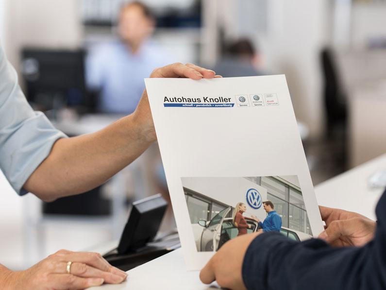 VW und Audi Neuwagen Autohaus Knoller